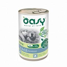 Oasy Umido Monoproteico Agnello per Cani 400gr