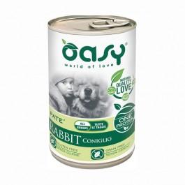 Oasy Umido Monoproteico Coniglio per Cani 400gr