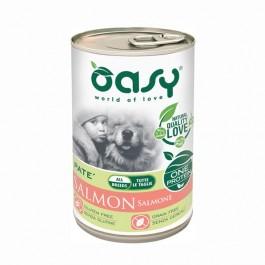 Oasy Umido Monoproteico Salmone per Cani 400gr