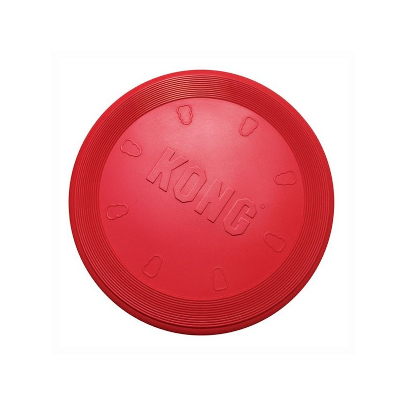 KONG Classic Flyer Frisbee Rosso