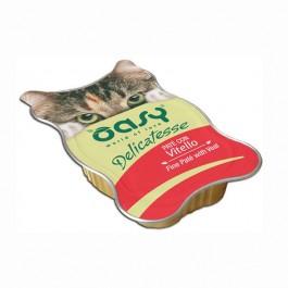 Oasy al Vitello in Vaschetta per Gatti 85gr