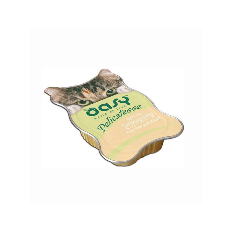 Oasy alla Selvaggina in Vaschetta per Gatti 85gr