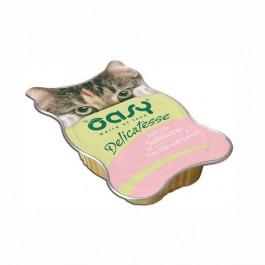 Oasy al Salmone in Vaschetta per Gatti 85gr