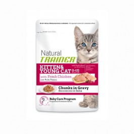 Trainer Natural in Busta per Gattini 85gr