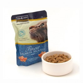 Fish4Cats Finest Mousse al Salmone per Gatti 100gr