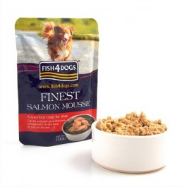 Fish4Dogs Finest Mousse al Salmone per Cani