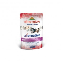 Almo Nature Gatto Alternative Tonno Oceano Indiano per Gatti 55gr