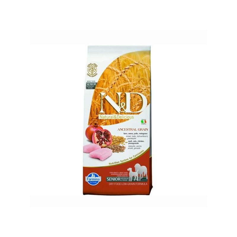 Farmina N&D Low Grain Medium Maxi Senior