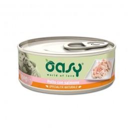 Oasy Umido Pollo e Salmone per Cani 150gr