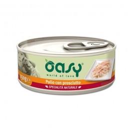Oasy Umido Pollo e Prosciutto per Cani 150gr