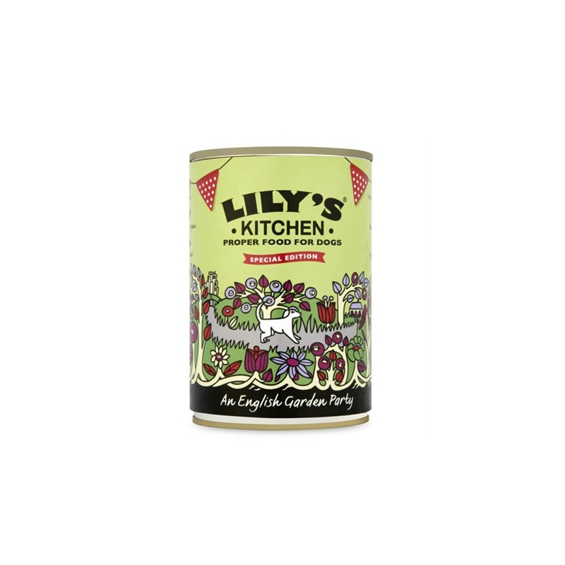 Lily's Kitchen Garden Party Umido per Cani 400gr