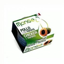 Monge Fruits Pollo e Papaya per Gatti 80gr