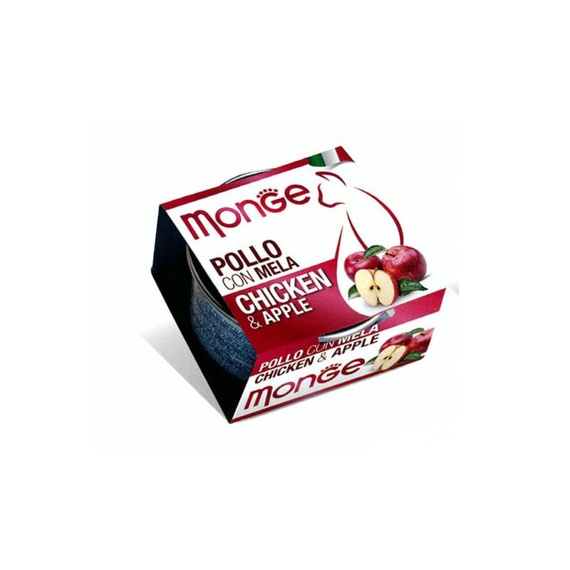 Monge Fruits Pollo e Mela per Gatti 80gr
