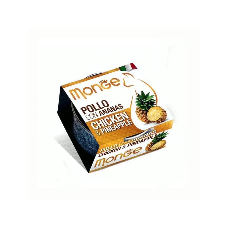 Monge Fruits Pollo e Ananas per Gatti 80gr