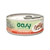 Oasy Natural Adult Pollo e Manzo Umido per Gatti 70gr