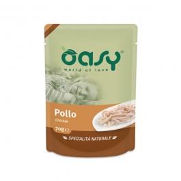 Oasy Umido Busta Pollo per Gatti 70gr