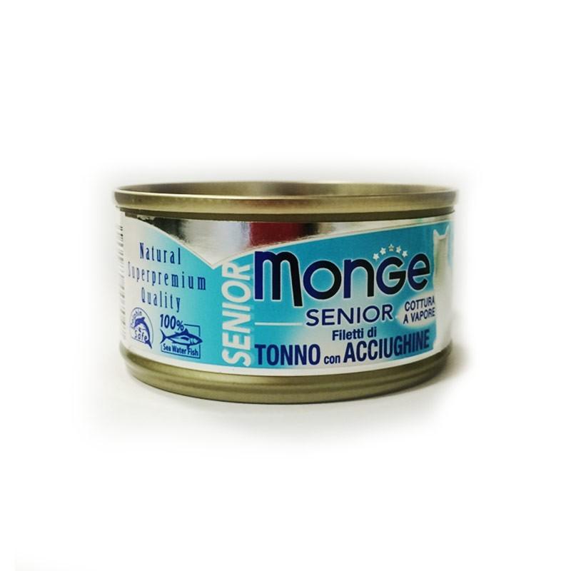 Monge Senior Umido per Gatti 80gr