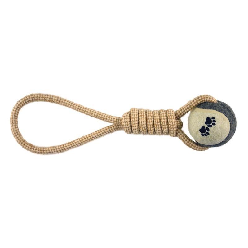 Imac Gioco Corda per Cani con Tennis Ball