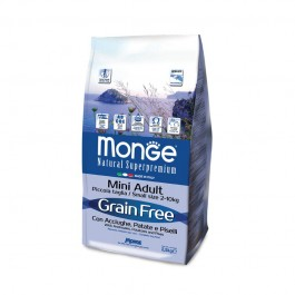 Monge Grain Free Adult Mini Acciughe e Patate