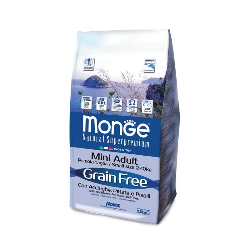 Monge Grain Free Adult Mini Acciughe e Patate