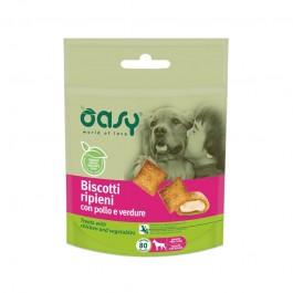 Oasy Biscotti Ripieni Pollo e Verdure per Cani