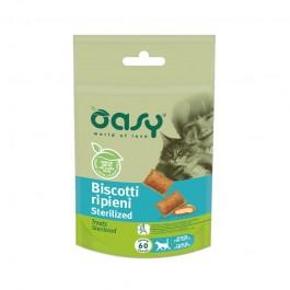 Oasy Biscotti Ripieni Sterilized per Gatto