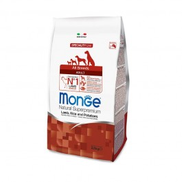 Monge All Breeds Adult Agnello e Riso