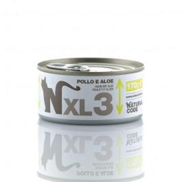 Natural Code XL Pollo e Aloe per Gatto