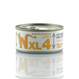 Natural Code XL Filetti di Pollo per Gatti 170gr