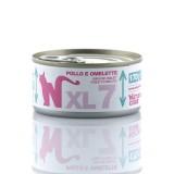 Natural Code XL Pollo e Omelette per Gatti 170gr