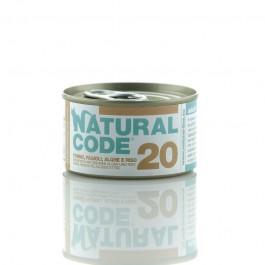 Natural Code Tonno Fagioli e Alghe Riso per Gatti 85gr