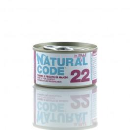 Natural Code Jelly Tonno e Fegato di Manzo per Gatti 85gr