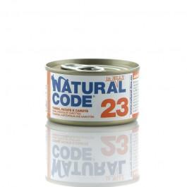 Natural Code Jelly Tonno Patate e Carote per Gatti 85gr