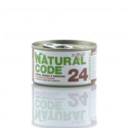 Natural Code Jelly Tonno Manzo e Verdure per Gatti 85gr