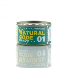 Natural Code Tonno e Pollo per Cani 95gr