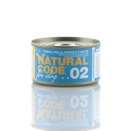 Natural Code Tonno Pollo e Patate per Cane