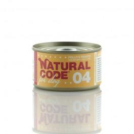 Natural Code Pollo e Fegato per Cane 95gr