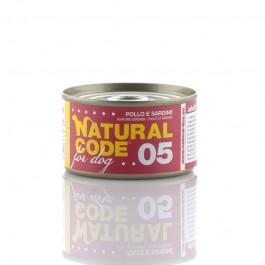 Natural Code Pollo e Sardine per Cane