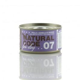 Natural Code Pollo Agnello e Patate per Cani 95gr