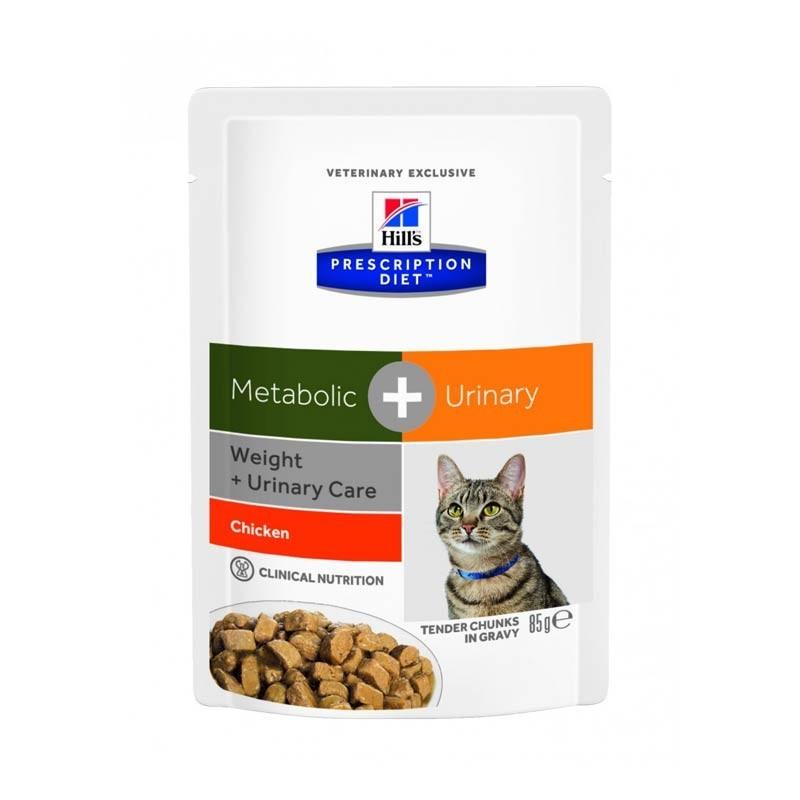 Hill's Feline Metabolic + Urinary Diet in Busta