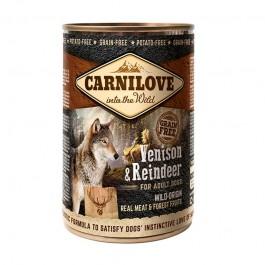 Carnilove Umido Adult Cervo e Renna per Cani 400gr