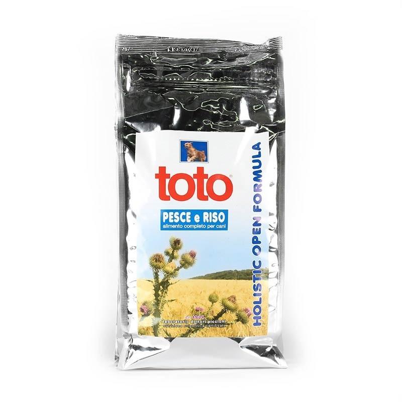 Toto Holistic Cane al Pesce, Riso e Kamut