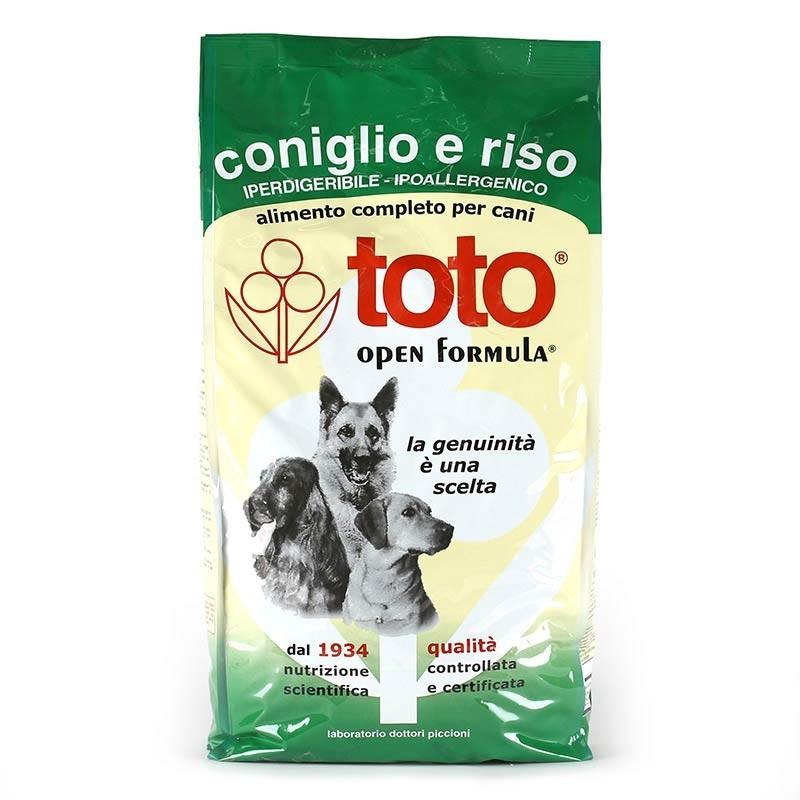 Toto Open Formula Cane Coniglio e Riso