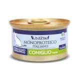 Unipro Monoproteico al Coniglio Umido per Gatti 85gr