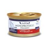Unipro Monoproteico al Vitello Umido per Gatti 85gr