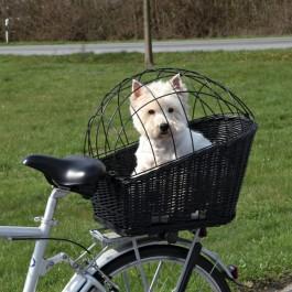 Trixie Cesto per Bicicletta  Nero