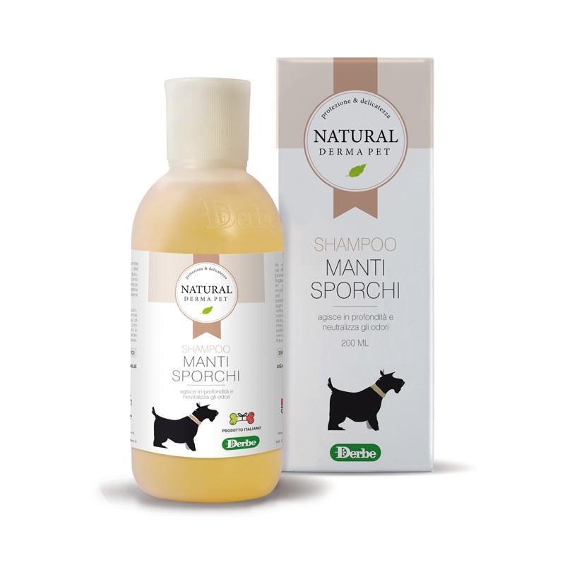 Derbe Shampoo Manti Sporchi per Cani