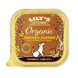 Lily's Kitchen al Pollo Vaschetta Bio per Cani 150gr