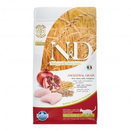 Farmina N&D Low Grain Neutered per Gatto
