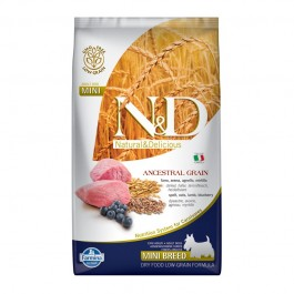 Farmina N&D Low Grain Adult Mini Agnello e Mirtillo